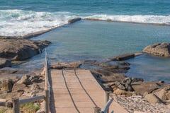 Stagno di marea di Ballito Immagini Stock Libere da Diritti