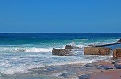 STAGNO DI MAREA NELL'OCEANO Fotografia Stock