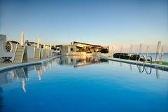 Stagno di nuotata di estate Immagine Stock