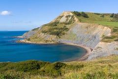 Stagno Dorset di Chapmans fotografia stock libera da diritti