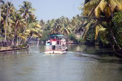 Stagno famoso nel Kerala fotografie stock