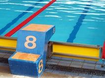 Stagno numero 8 di immersione fotografia stock libera da diritti