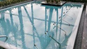 Stagno termico - superficie di ribollimento dell'acqua video d archivio