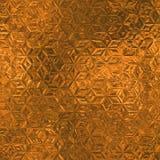 Stagnola arancio struttura del fondo di Tileable e senza cuciture Fotografia Stock