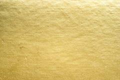 Stagnola di oro immagini stock