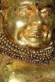 Stagnola di oro del Buddha Fotografia Stock Libera da Diritti