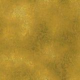 Stagnola dorata struttura di lusso di Tileable e senza cuciture del fondo Fondo brillante dell'oro corrugato festa Fotografia Stock