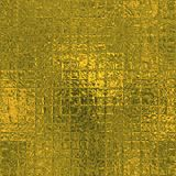 Stagnola dorata struttura di lusso di Tileable e senza cuciture del fondo Fondo brillante dell'oro corrugato festa Immagine Stock Libera da Diritti