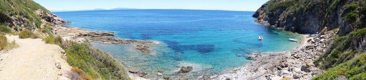 Stagnone nell'isola di Elba Fotografie Stock Libere da Diritti