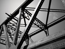 Stahl-Auszug Lizenzfreie Stockbilder