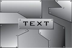 Stahl eine Platte   Stockbilder