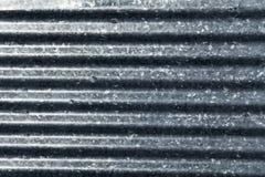 Stahl ondulated Hintergrund Lizenzfreies Stockfoto