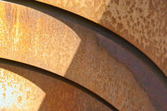Stahl-Ringe Lizenzfreies Stockfoto