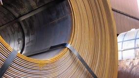 Stahl-Ringe Stockfoto