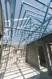Stahl Roof-14 Stockfoto