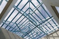 Stahl Roof-21 Stockbild