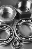 Stahl- und Aluminiummenagerie Stockfotografie