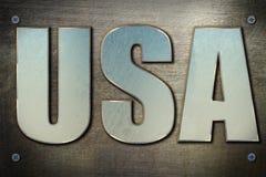 Stahl-USA-Konzept Lizenzfreie Stockfotografie