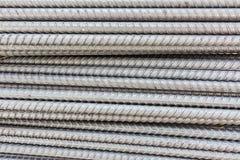 Stahl verformte Stäbe Stockfoto