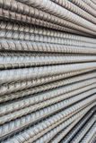 Stahl verformte Stäbe Stockbilder