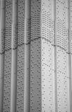 Stahlaufbau Stockfoto