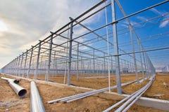 Stahlaufbau Lizenzfreie Stockfotos