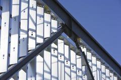 Stahlaufbau Stockfotografie