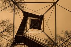 Stahlaussichtturm auf verbündeter Allee in Gettysburg, Pennsyl lizenzfreie stockbilder