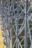 Stahlbau der Innenskisteigung Snowworld Zoetermeer, die Niederlande stockbilder