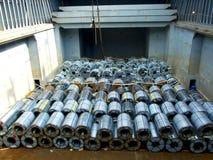 Stahlbehälter stockbilder