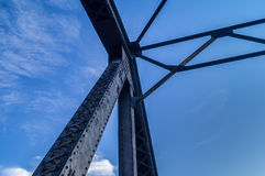 Stahlbinder Stockfoto
