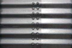 Stahlblech lizenzfreie stockbilder