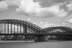 Stahlbrücke Lizenzfreies Stockbild