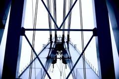 Stahlbrücke Stockbilder