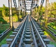 Stahlbrücke für Serie Lizenzfreies Stockfoto