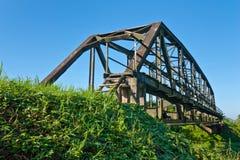 Stahlbrücke für Serie Stockfotografie