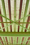 Stahlbrückendetail stockfotografie
