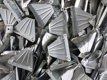Stahlcomputerteile für die Wiederverwertung Stockbild