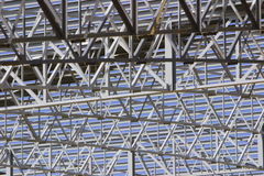 Stahldach Stockbild