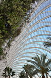 Stahldach und Anlagen Lizenzfreies Stockfoto