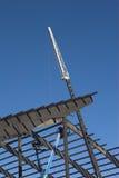 Stahldachsparren-Aufbau Stockfotos
