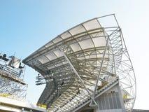 Stahldachspitze Stockfotografie