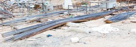 Stahldraht für Bau Stockfotografie