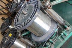Drahtspulen stockfoto. Bild von silber, industrie, metallisch - 189808