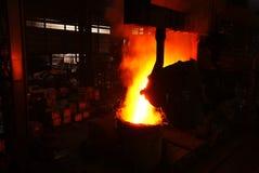 Stahlerzeugungeisenarbeiten Stockfoto