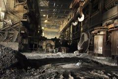 Stahlfabrik lizenzfreie stockfotos