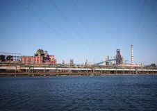 Stahlfabrik, China Stockfotos