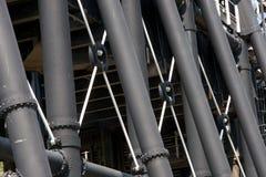 Stahlfahrwerkbeine Stockbild