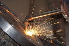 Stahlfeuer Stockbilder