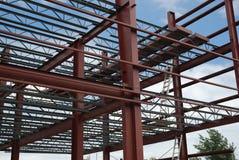 Stahlgebäude Stockfoto